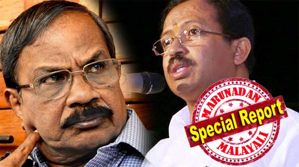 Bjp leader v muraleedharan 39 s reply to omman chandy for V muraleedharan bjp