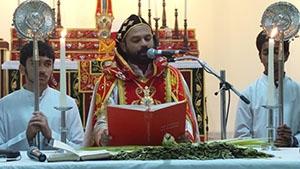 ദോഹ സെന്റ് ജയിംസ് യാക്കോബായ പള്ളിയിൽ ഓശാന ശ്രുശ്രൂഷ ഭക്തി സാന്ദ്രമായി