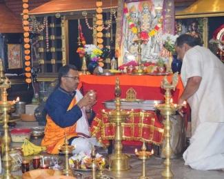 ശ്രീരാമകഥാമൃതം ഭക്തിസാന്ദ്രമാക്കിയ രാമായണ മാസാചരണത്തിന് ഗീതാ മണ്ഡലത്തിൽ പരിസമാപ്തി