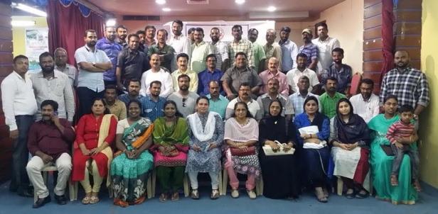 ജികെപിഎ 2018-19ലെ മംഗഫ് / ഫഹാഹീൽ ഏരിയ കമ്മറ്റികൾ നിലവിൽ വന്നു