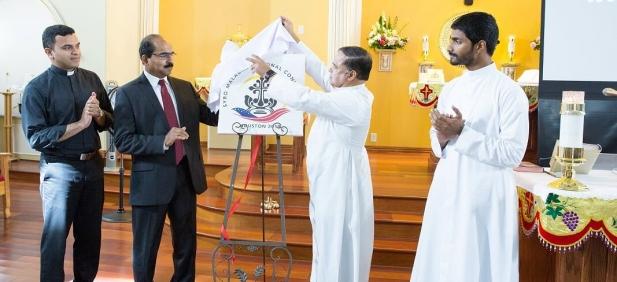 സീറോ മലബാർ നാഷണൽ കൺവെൻഷൻ 2019; ലോഗോ ഹ്യൂസ്റ്റനിൽ പ്രകാശനം ചെയ്തു