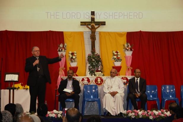 മെൽബൺ സീറോ മലബാർ രൂപതയുടെ നാലാം വാർഷികം ആഘോഷിച്ചു