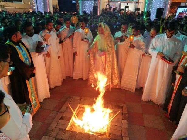ഷാർജ സെന്റ് ഗ്രിഗോറിയോസ് ഓർത്തഡോക്സ് ഇടവകയിൽ ക്രിസ്തുമസ് ശ്രുശ്രൂഷ സംഘടിപ്പിച്ചു