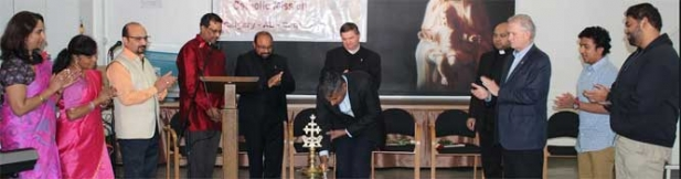 സെന്റ് ജൂഡ് മലങ്കര കാത്തലിക് മിഷൻ കാൽഗറി പാരീഷ് ദിനവും റിപ്പബ്ലിക് ദിനവും ആഘോഷിച്ചു