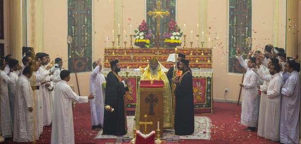 ദുബായ് സെന്റ് തോമസ് ഓർത്തഡോക്സ് കത്തീഡ്രലിൽ ഓശാന ശ്രുശ്രൂഷ ഭക്തിനിർഭരമായി