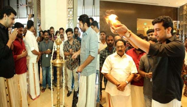 രമേഷ് പിഷാരടി ഇനി സംവിധായകൻ; മമ്മൂട്ടി നായകനാകുന്ന ഗാനഗന്ധർവ്വൻ സിനിമയുടെ ചിത്രീകരണം ആരംഭിച്ചു; പൂജ നടന്നത് താരനിറവിൽ