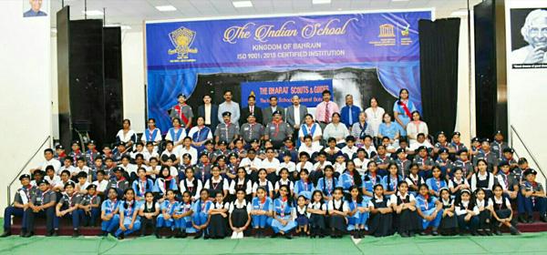 ഇന്ത്യൻ സ്കൂൾ സ്കൗട്ട്സ് ആൻഡ് ഗൈഡ്സ് നേതൃ പരിശീലന ക്യാമ്പ് സംഘടിപ്പിച്ചു