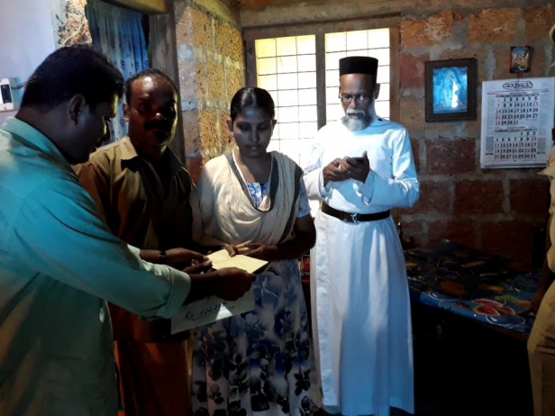 കണ്ണൂർ പ്രവാസി കൂട്ടായ്മ കുവൈറ്റ് ചികിത്സാ ധനസഹായം കൈമാറി