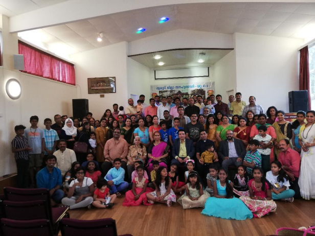 തൃശൂർ ജില്ലയുടെ സപ്തതി ആഘോഷം ബ്രിട്ടനിൽ സംഗീതസാന്ദ്രമായി കൊണ്ടാടി
