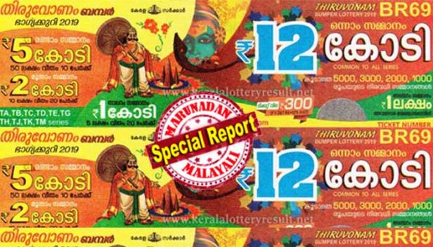 തിരുവോണം ബംബർ നറുക്കെടുത്തു; ഒന്നാം സമ്മാനമായ 12 കോടി രൂപയുടെ ലോട്ടറി അടിച്ചത് കായംകുളത്ത് ഏജന്റ് ശിവൻകുട്ടി വിറ്റ TM 160869 നമ്പർ ടിക്കറ്റിന്; മഹാഭാഗ്യവാനായ ആ വിജയിക്ക് ആദായനികുതിയും ഏജന്റുമാരുടെ കമ്മിഷനും കഴിഞ്ഞ് കൈയിൽ കിട്ടുക 7.56 കോടി രൂപ; 10 പേർക്ക് 50 ലക്ഷം വീതം രണ്ടാംസമ്മാനം; മൂന്നാം സമ്മാനമായ 10 ലക്ഷം രൂപ 20 പേർക്കായി നൽകും; ഇത്തവണത്തെ ഓണം ബംബർ കേരള ചരിത്രത്തിലെ ഏറ്റവും വലിയ സമ്മാനത്തുക അടങ്ങിയത്