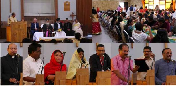 കാൽഗറിയിൽ റവ.ഫാ. ബിന്നി എം കുരുവിളയുടെ പൗരോഹിത്യരജത ജൂബിലിയും, യാത്രയയപ്പും, ഓണാഘോഷവും നടന്നു