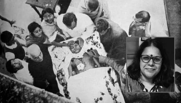 'ഈശ്വര അള്ളാ തേരേ നാം' അപ്രസക്തമാവുകയും പകരം ഗോഡ്സെയെ ധീര ദേശാഭിമാനിയായി വാഴ്ത്താൻ ധൈര്യമുള്ള ജനപ്രതിനിധികൾ ജനങ്ങളാൽ തിരഞ്ഞെടുക്കപ്പെട്ടു എന്നിടത്താണ് നമ്മുടെ പരാജയം; ഗോഡ്സാ സ്നേഹി പ്രഗ്യാസിങ് താക്കൂർ പാർലിമെന്റിൽ ഇരുന്നു നിയമനിർമ്മാണം നടത്തുന്നു; അതിനു മുൻപ് 'on behalf of Gandhiji' ഇന്ത്യ എന്ന ആശയത്തെ, ബഹുസ്വര ദേശീയതയെ വീണ്ടെടുക്കേണ്ടിയിരിക്കുന്നു: സുധാ മേനോൻ എഴുതുന്നു