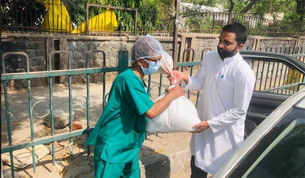 ഡൽഹിയിൽ പാവങ്ങൾക്ക് തുണയായി മർകസ്: വിതരണം ചെയ്തത് 5000 റേഷൻകിറ്റുകൾ