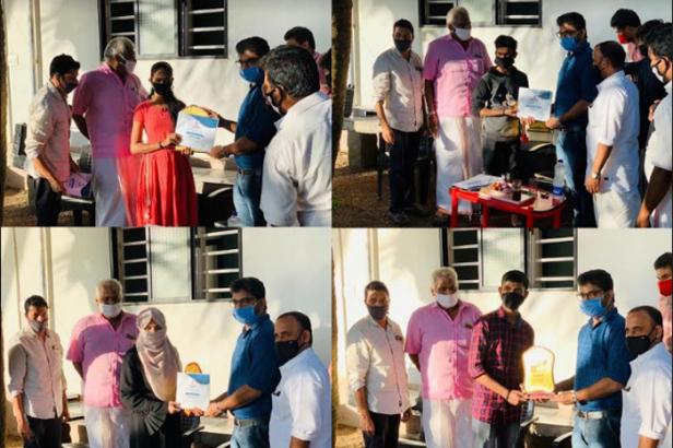 കാരുണ്യനിധി കൊത്തിക്കാൽ; വിജയികൾക്ക് വിദ്യാഭ്യാസ അവാർഡ് നൽകി അനുമോദിച്ചു