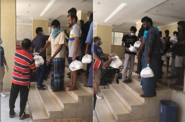 പെരുന്നാൾ ദിവസം ഭക്ഷണപ്പൊതികൾ വിതരണം ചെയ്ത് ഇന്ത്യൻ സോഷ്യൽ ഫോറം