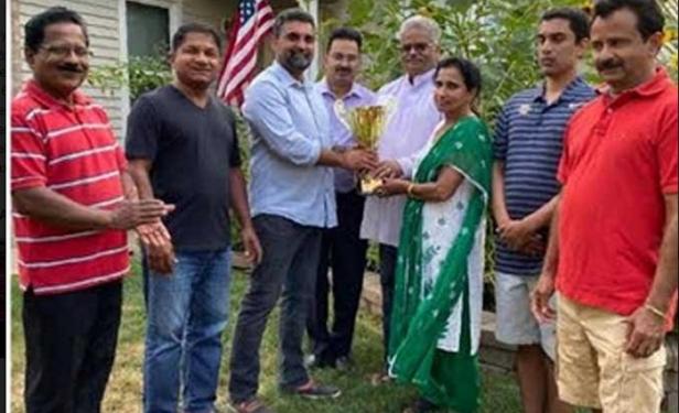 കെ.സി.എസ് ജോയിച്ചൻ ചെമ്മാച്ചേൽ മെമോറിയൽ കർഷകശ്രീ പുരസ്കാരം ബേബി: ജെസി മാധവപ്പള്ളിക്ക്