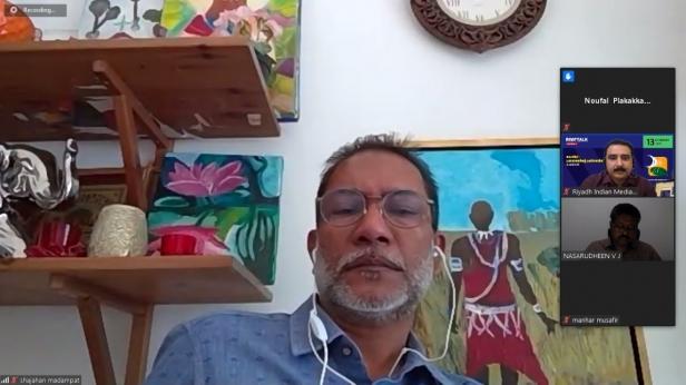 റിയാദ് ഇന്ത്യൻ മീഡിയാ ഫോറം കോവിഡ്: പ്രവാസത്തിന്റെ പ്രതിസന്ധിയും പ്രതീക്ഷയും എന്ന വിഷയത്തിൽ വെബിനാർ ഒരുക്കി