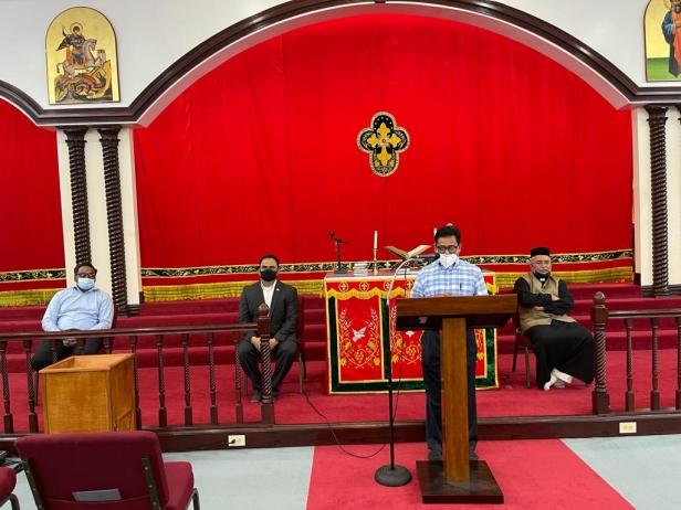 കോവിഡ് വാക്സിനേഷൻ: ഹൂസ്റ്റൺ സെന്റ് മേരീസ് ഓർത്തോഡോക്സ് ദേവാലയത്തിൽ സെമിനാർ സംഘടിപ്പിച്ചു