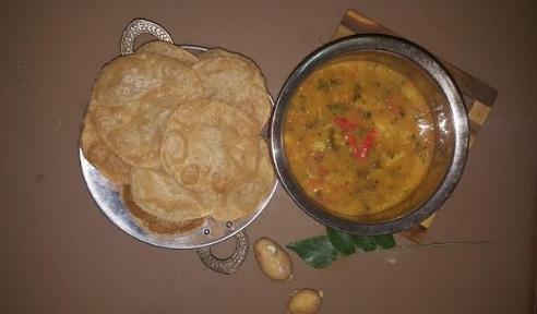 രസവാല മസാല,പൂരി